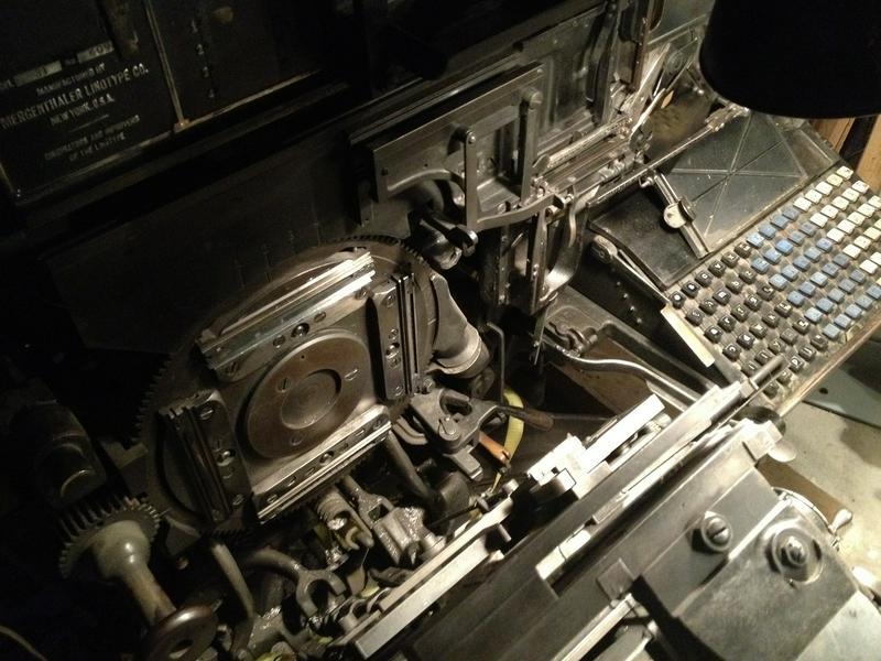 Model 31 Linotype